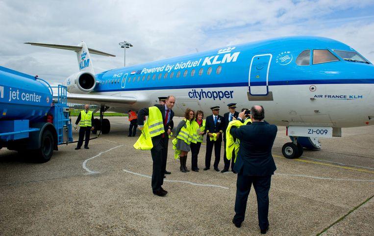 Fokker 70. Beeld anp