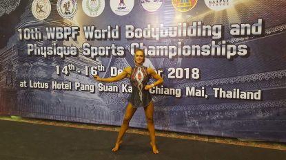 Blessure kostte haar een grote carrière in het turnen, nu pakt Marlies (24) titel op WK Bodybuilding