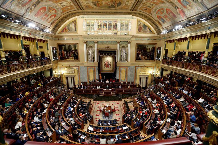 Het Spaanse parlement. Beeld Reuters