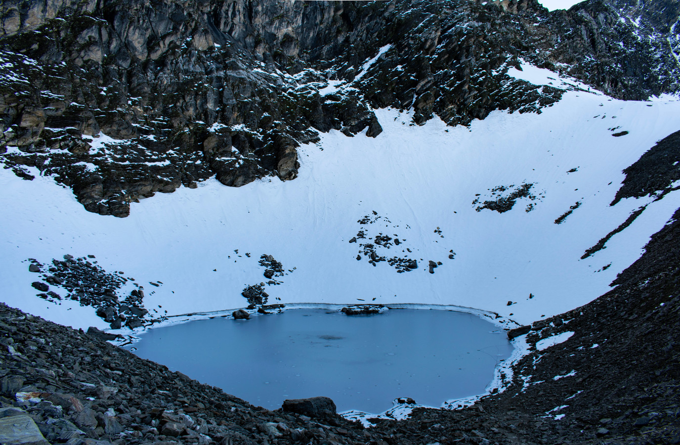 Le lac Roopkund
