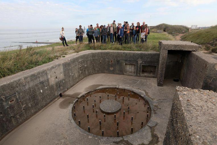 Een kleine groep uitverkorenen kreeg al een rondleiding  in het bunkercomplex.