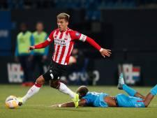 Jong PSV plaagt FC Twente wel,  maar prikt niet: 'Ook discutabele momenten'