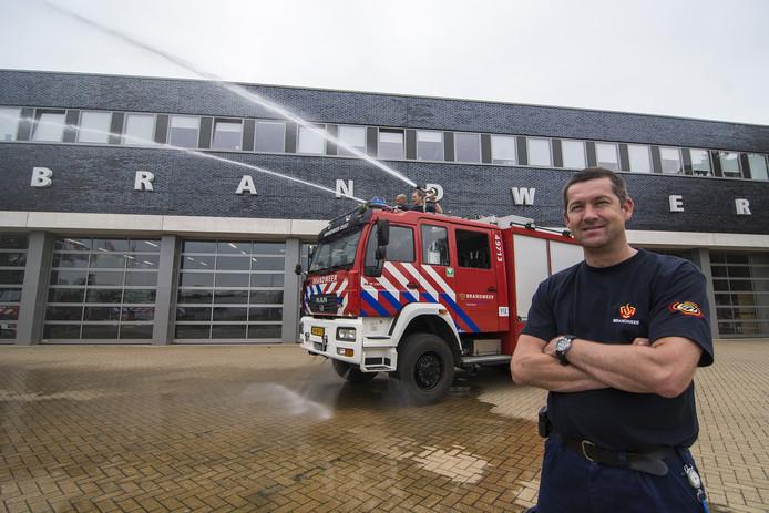 Marcel Geluk van de Veiligheidsregio Utrecht (VRU).