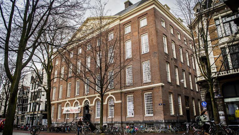 Maagdenhuis, pand van de Universiteit van Amsterdam Beeld anp