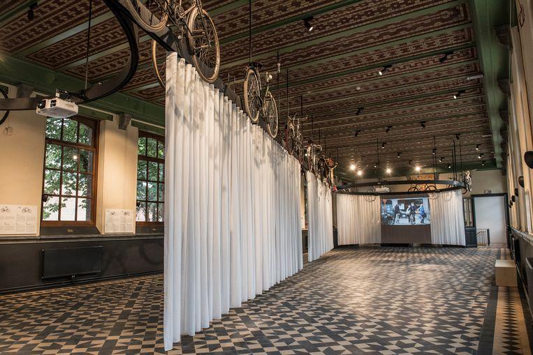 Roeselare - feestelijke opening Wielermuseum KOERS