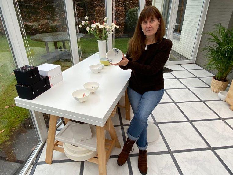 Keramiekster Margot Thyssen (55) exposeert in maart op 'Modern Masters' in München.