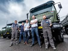 Dit bedrijf uit Etten-Leur bouwde in drie maanden 35 trucks voor Defensie