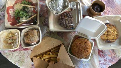 """LEKKER LOKAAL Takeaway bij Boelekewis: """"Een prachtige maaltijd waarbij we ons buikje rond hebben gegeten"""""""