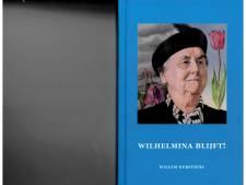 Wilhelmina eet gebakken haring in Boudewijnskerke