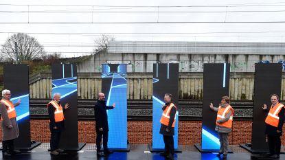 Van 2 naar 4 sporen tussen Denderleeuw en Brussel