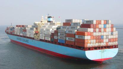 Containerschip vaart op frituurvet van Nederland naar China