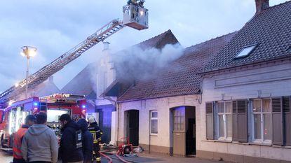 Brand op zolder door defecte boiler