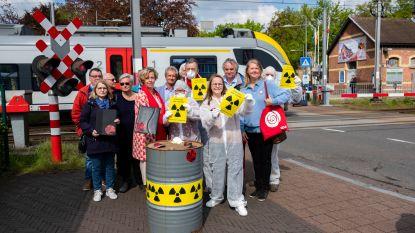 """Sp.a wil vervoer van nucleair afval over spoorlijn 12 stopzetten: """"In Nederland is dat zelfs verboden in dichtbevolkte gebieden"""""""