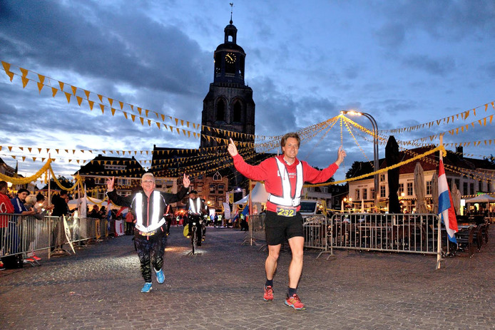 Roparun in Bergen op Zoom in 2017.