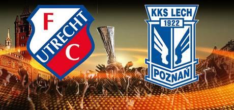 Utrecht ontvangt in eigen Galgenwaard Lech Poznan