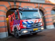Gaslek nadat man leiding van butaantank doorknipt in Krimpen aan den IJssel