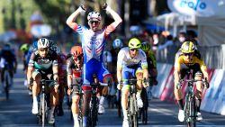 Démare sprint sneller dan Ewan en Van Aert in Turijn, Lampaert moet vrezen voor sleutelbeenbreuk