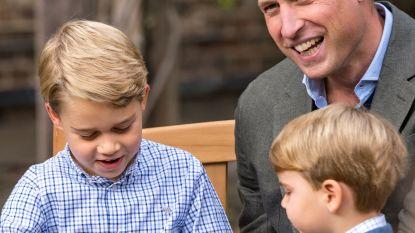 Britse prins George (7) krijgt bijzonder cadeau van idool David Attenborough