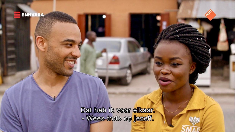 Ikenna Azuike op pad in Nigeria. Beeld *