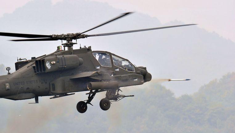 Een Amerikaanse Apache. Beeld
