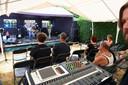RootsRock tuinfestival met Squeezy Scramble aan de Zoete Waters (tekst Stefan)