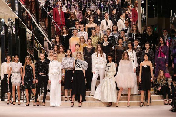 Chanel Metiers D'Art 2019-2020 show.