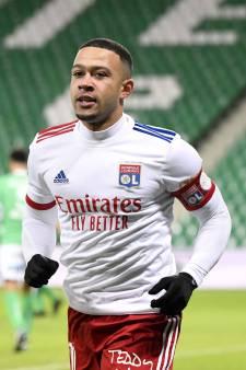 Depay haalt met Olympique Lyon flink uit in Rhône Derby bij Saint-Étienne