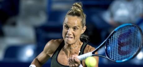 Nederlandse vrouwen bereiken halve finales dubbelspel in Palermo