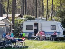 Drukte op de campings op de Veluwe