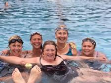 Marion zwemt voor haar zeldzame ziekte PXE het Lago Maggiore over