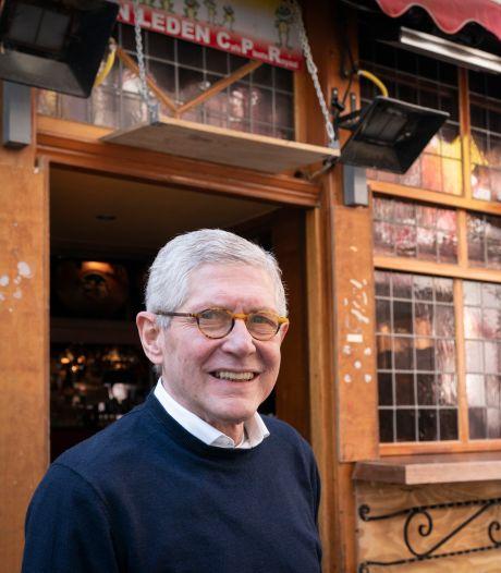 Café-eigenaar Robbie de Vaan neemt afscheid: 'Niet lullen, en vooral kunnen zwijgen'