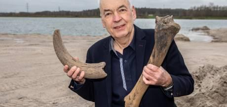 Zandafgraving geeft Zwolse prehistorische geheimen prijs: 'Kijk, een nijlpaardtand'