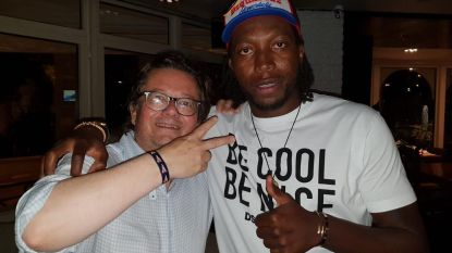 Coucke treft Mbokani in Monaco