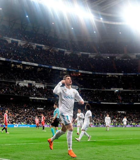 Cristiano Ronaldo zet ongekende doelpuntenreeks voort