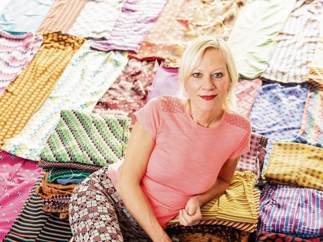 """Juwelenontwerpster Nadine Wijnants, kattenfan en eigenaar van 386 dezelfde broeken: """"Ik creëer sprookjes. Maar ze moeten draagbaar zijn"""""""