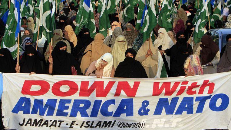 Het incident leidde tot een storm van protest in Pakistan. Beeld ap