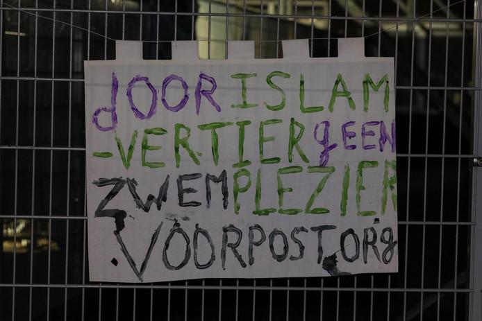 'Meer acties zijn zeker niet uitgesloten', schrijft Voorpost op zijn Facebookpagina.