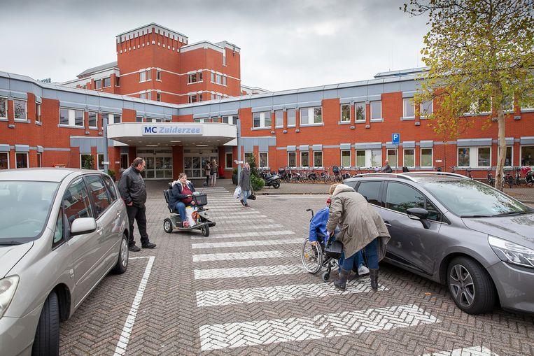 Het donderdag failliet verklaarde ziekenhuis MC Zuiderzee in Lelystad. Beeld Harry Cock