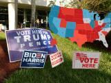 De allerlaatste peilingen: zo staan Donald Trump en Joe Biden er voor in de swingstaten