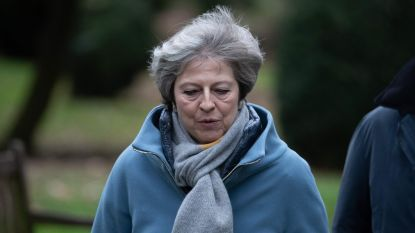 """Theresa May roept bevolking en parlement laatste keer op zich achter haar brexitplan te scharen: """"Denk aan de gevolgen voor de Britse democratie"""""""