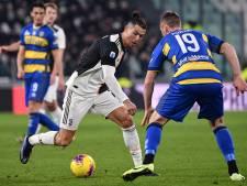 Cristiano Ronaldo zet Juventus vier punten boven Internazionale