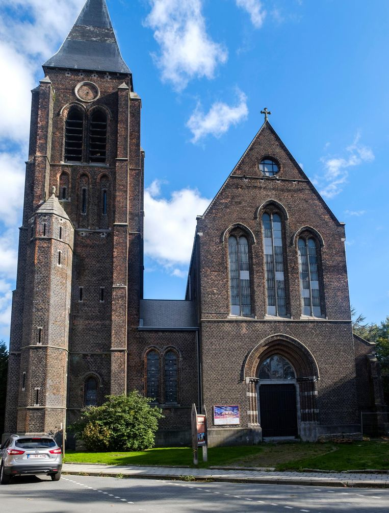 De kerk van Hellegat.