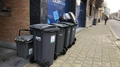 Enkel in Baarle-Hertog wordt afval opgehaald