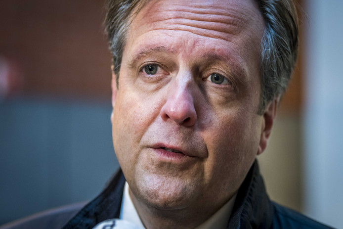 Partijleider Alexander Pechtold (D66).