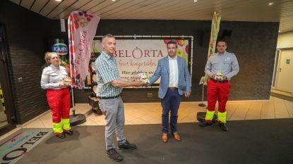 Fruitveiling BelOrta bedankt 130 Rode Kruisvrijwilligers met fruitpakket