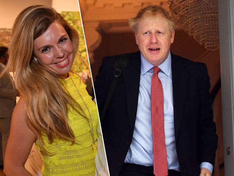 Carrie Symonds is sinds vorig jaar de partner van Boris Johnson.