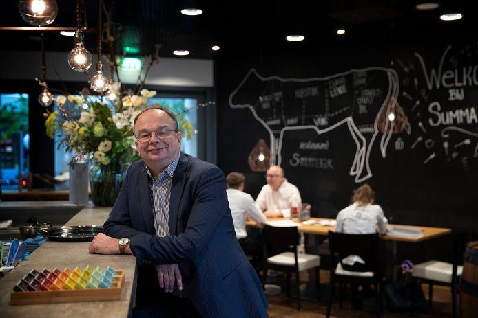 Laurent de Vries, voorzitter van het college van bestuur van het Summa College in Eindhoven.