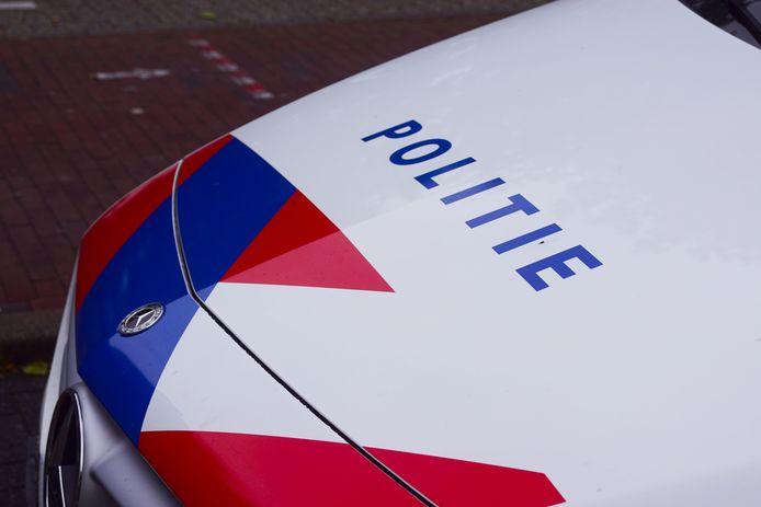 Een politieauto ter illustratie.