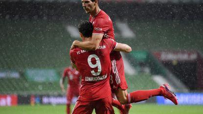 Nog wat meer Rekordmeister: Bayern voor achtste keer op rij kampioen na zuinige zege bij Bremen