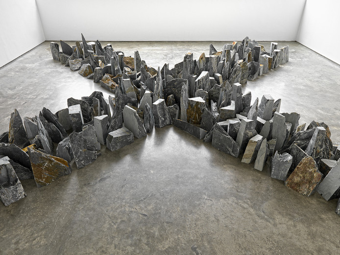 Richard Long, Four Ways (2014), © Richard Long, Courtesy of Lisson Gallery